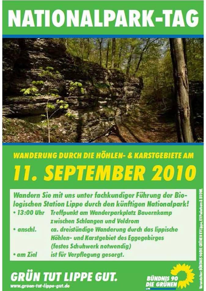 Wanderung zum Nationalparktag am 11. September