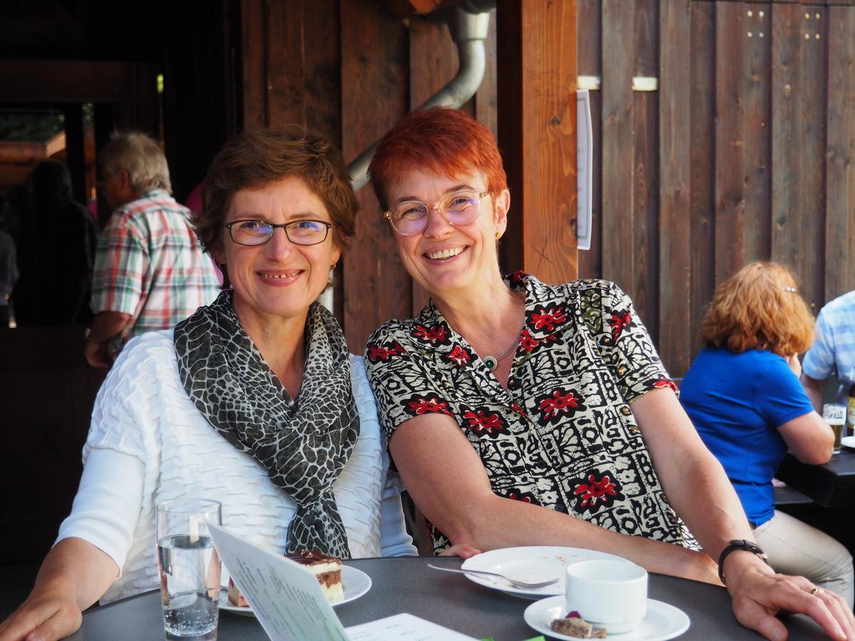Britta Hasselmann und Ute Koczy