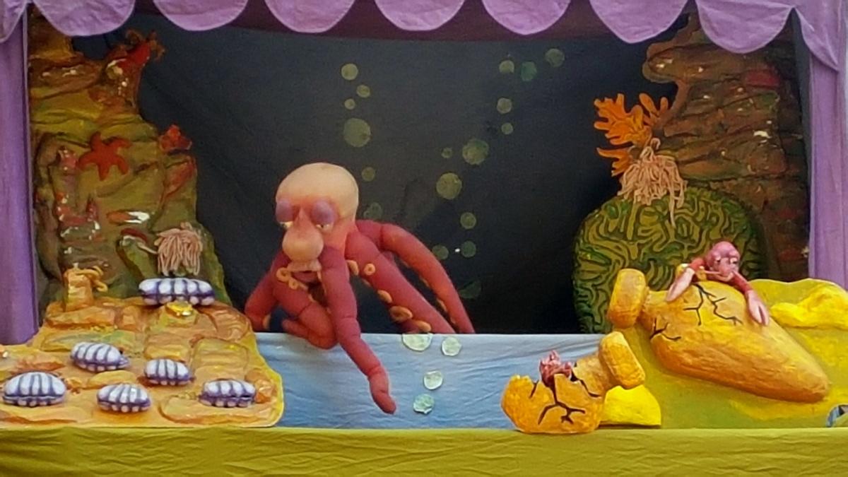 """Tentakel Spektakel"" Puppentheater"