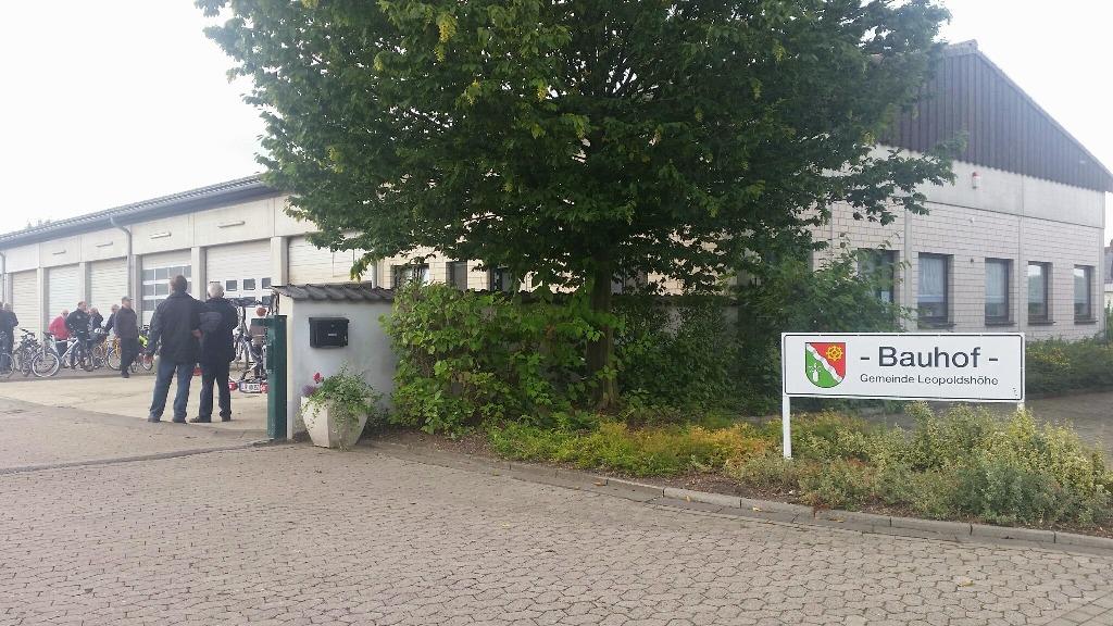 Start und Ziel: Bauhof an der Schucketeichstraße