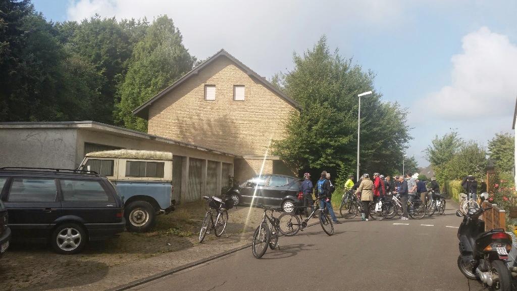 Unbewohnbare Häuser Südstraße in Bexterhagen