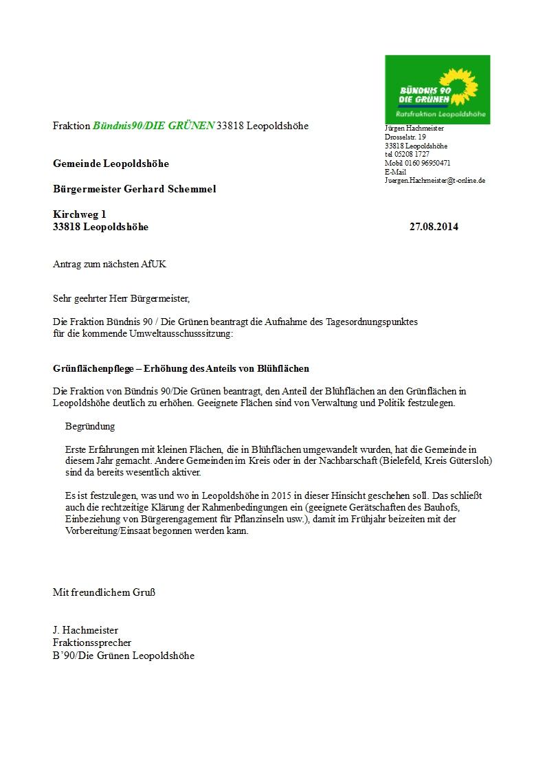 2014_Antrag UA Grünflächenpflege - Blühflächen_koor