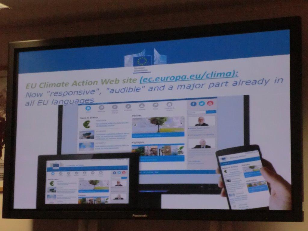 Vortrag zur EU Climate Action