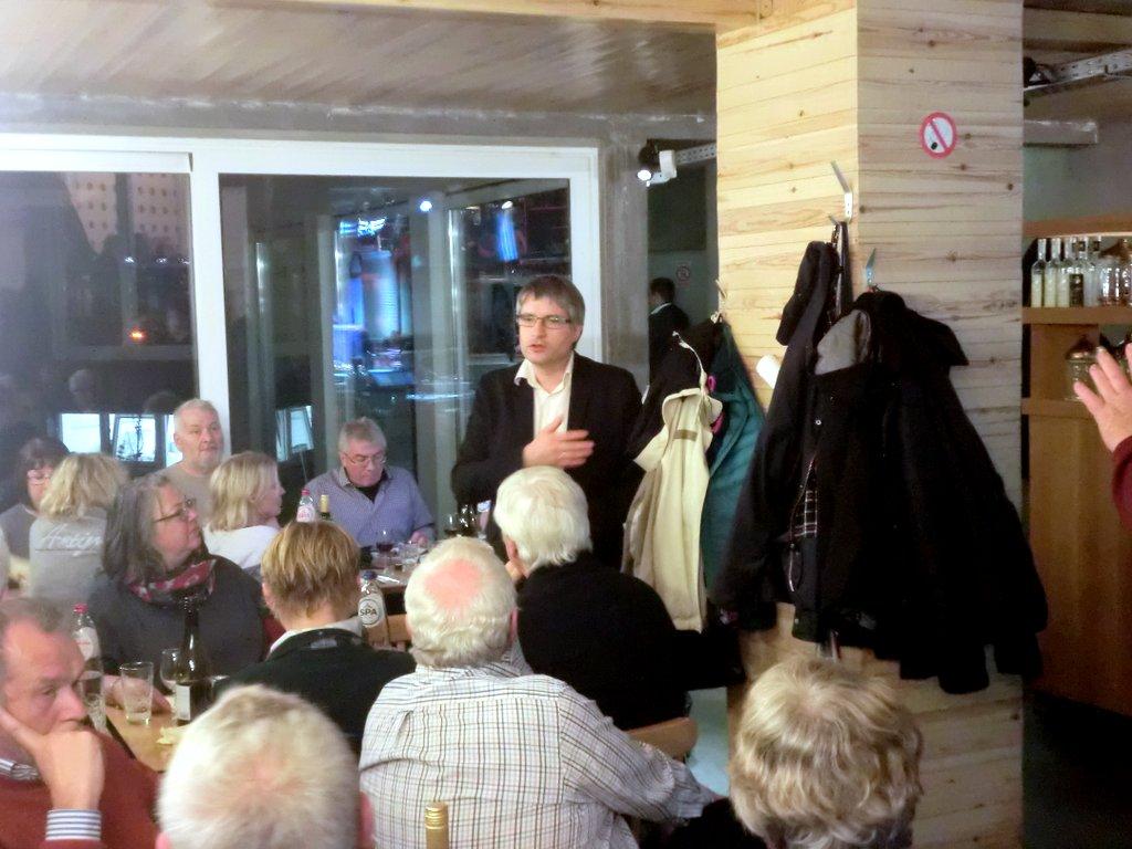 Sven Giegold berichtet uns von seiner Arbeit