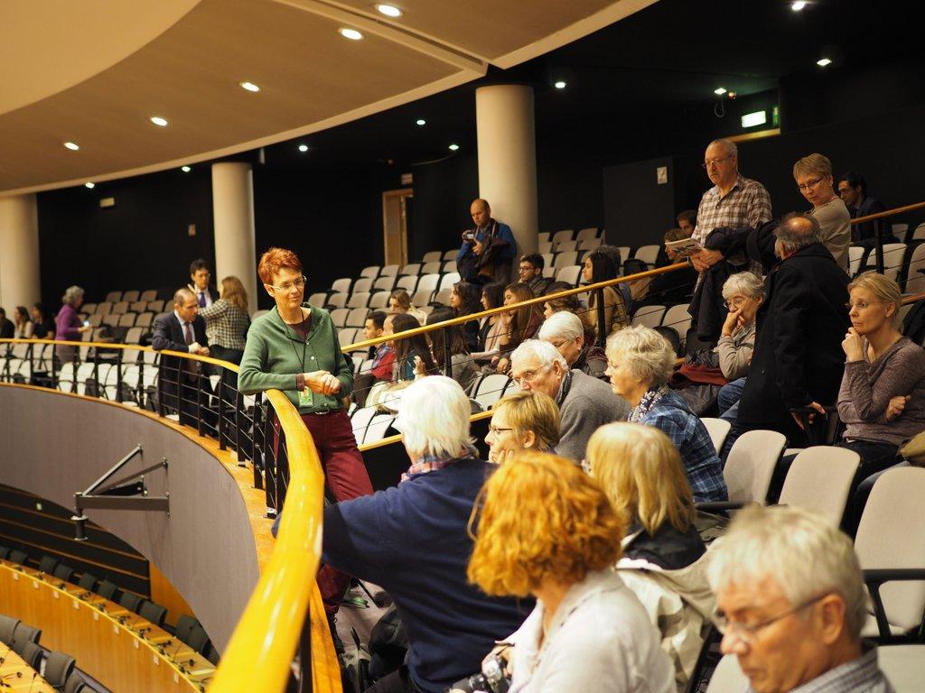 Besuch des Plenarsaal