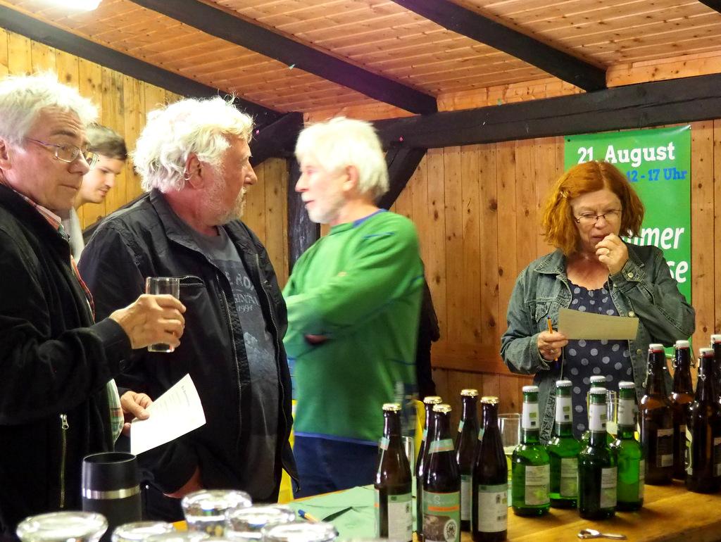 Bio Bier- und Weinverkostung