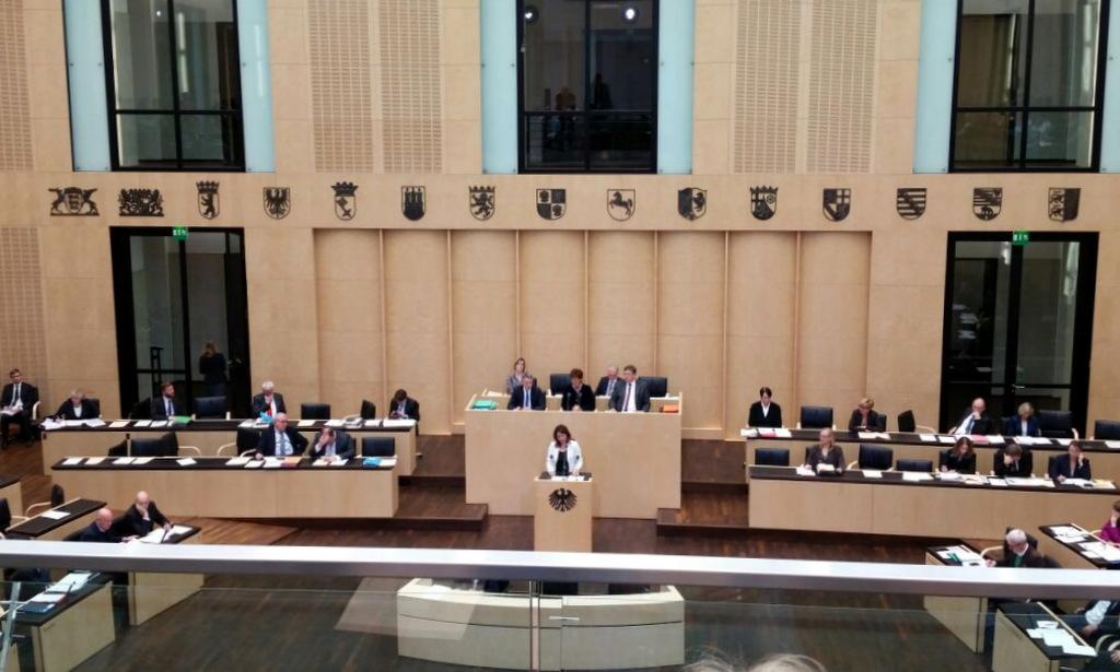 Plenarsitzung im Bundesrat