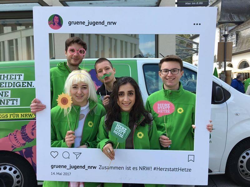 Grüne Jugend am 6. September in Lemgo