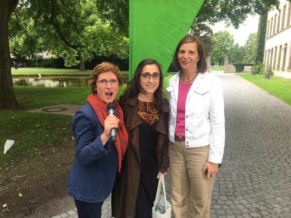 Britta Hasselmann, Nurcan und Katrin Göring-Eckardt